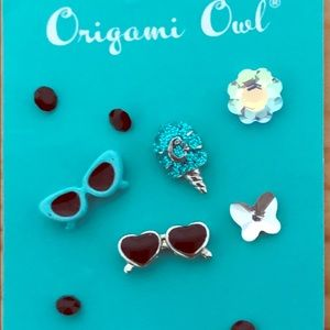 Free with purchase Origami Owl Charms